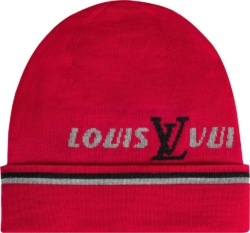 Red 'Forward' Beanie