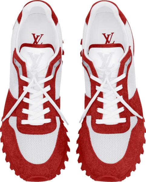 Louis Vuitton Red Runner Trainer