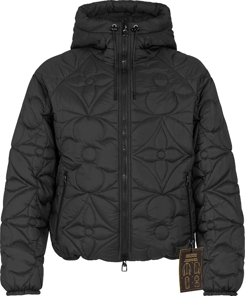 Louis Vuitton Reverse Monogram Down Jacket