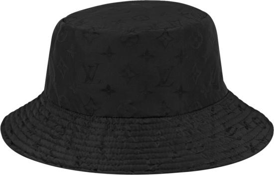 Louis Vuitton Reversible Brown Monogram And Black Monogram Bucket Hat