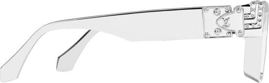Louis Vuitton Silver 1.1 Millionaires Sunglasses