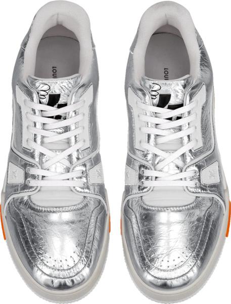 Louis Vuitton Silver Sneakers