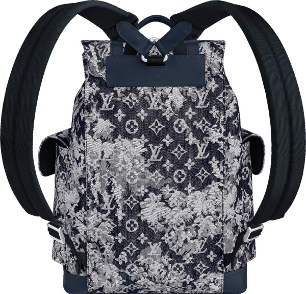 Louis Vuitton Tapestry Monogram Christopher Backpack