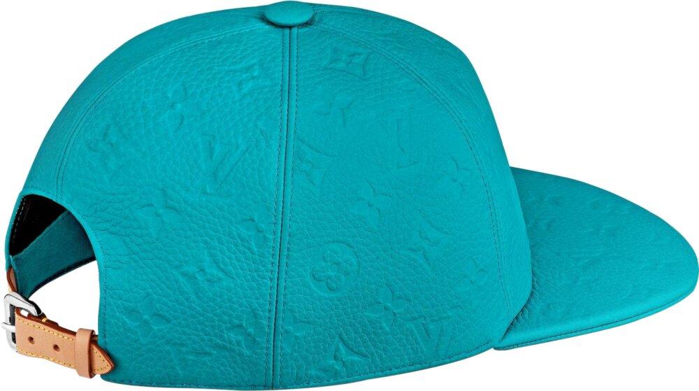 Louis Vuitton Tourquoise Leather Hat
