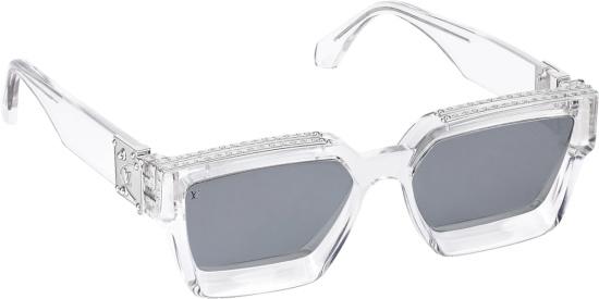 Louis Vuitton Transparent Square Sunglasses