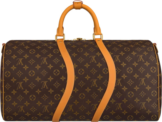 Louis Vuitton Wavy Monogram Keepall 50 Duffle Bag
