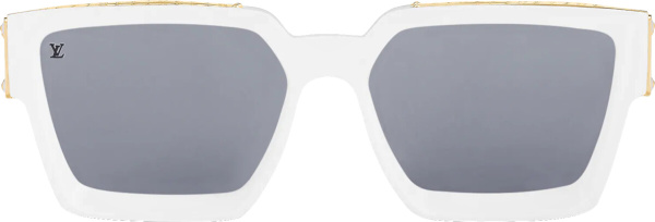 Louis Vuitton White 1.1 Millionaires Sunglasses