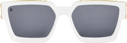 Louis Vuitton White 1.1 Sunglasses