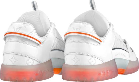Louis Vuitton White A View Sneakers