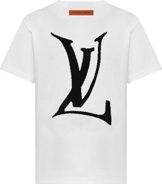 Louis Vuitton White End Goal T Shirt