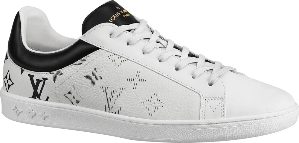 Louis Vuitton White Luxemborgh Sneakers