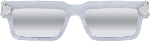 Louis Vuitton White Marble Joystorm Sunglasses