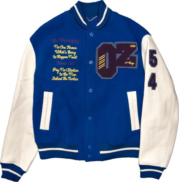 Louis Vuitton Wizard Of Oz Blue Varsity Jacket