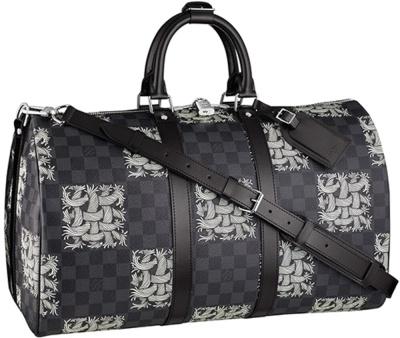 Louis Vuitton X Christopher Nemeth Black Rope Duffle Bag