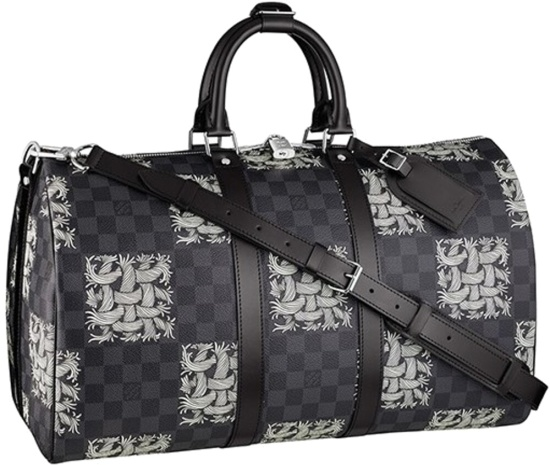 Louis Vuitton X Christopher Nemeth Black Rope Duffle Bag