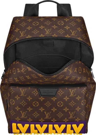 Louis Vuitton X Lakers Logo Monogram Backpack