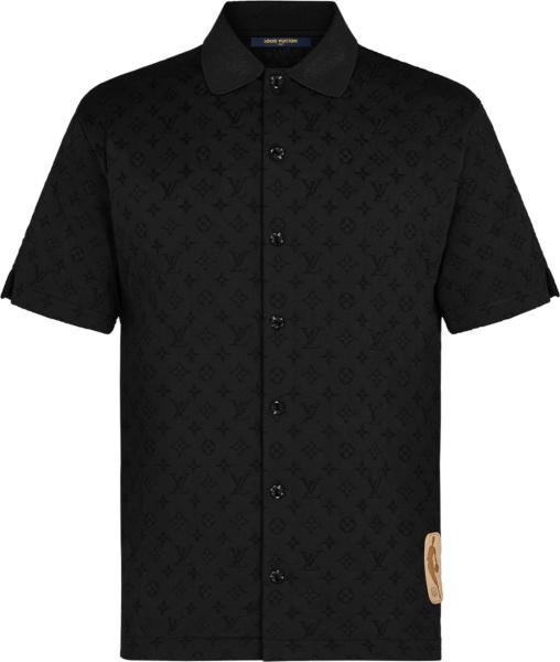 Louis Vuitton X Nba Black Monogram Shirt 1a8x14
