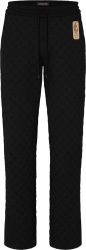 Louis Vuitton X Nba Black Monogram Slit Pants