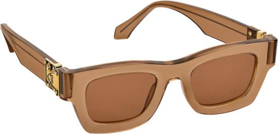 Louis Vuitton X Nba Brown Charleston Sunglasses