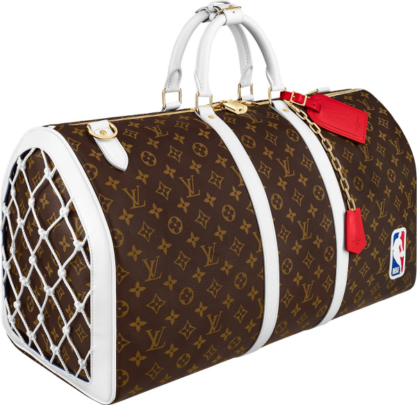 Louis Vuitton X Nba Brown Monogram Duffle Bag