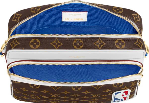 Louis Vuitton X Nba Brown Monogram Messenger Bag