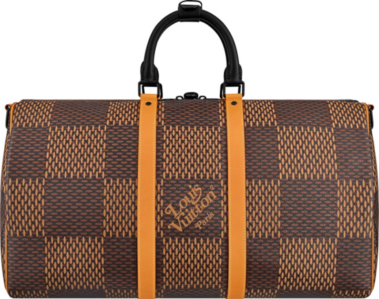 Louis Vuitton X Nigo Keepall BandouliÈre 50