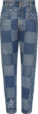 Louis Vuitton X Nigo Blue Giant Waves Jeans 1a7ydn