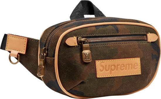 Louis Vuitton X Supreme Brown Camo Bumbag