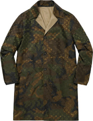 Louis Vuitton X Supreme Camo Monogram Trench Coat