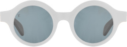 Louis Vuitton X Supreme White Downtown Sunglasses
