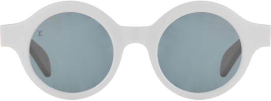 Louis Vuitton X Supreme White Downtown Sunglasses