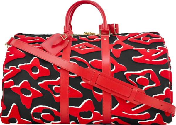 Louis Vuitton X Urs Fischer Keepall Duffle Bag