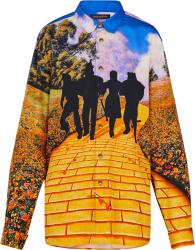 Louis Vuitton Yellow Brick Road Silk Shirt