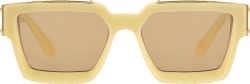Louis Vuitton Yellow Millionaires Sunglasses