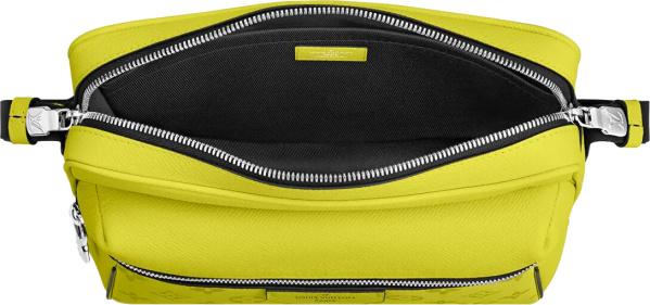 Louis Vuitton Yellow Outdoor Messenger Bag