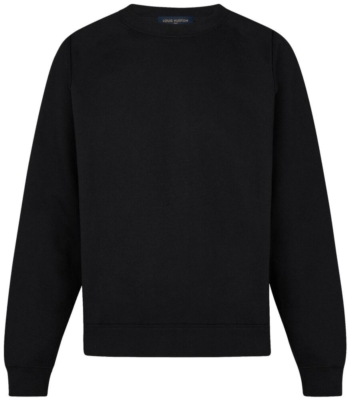 397dd10b2 Louis Vuitton. Brown Patch Black Inside-Out Sweatshirt