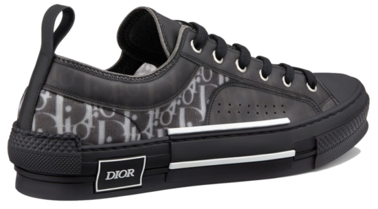 Low Top Dior Oblique Sneakers Worn By Offset