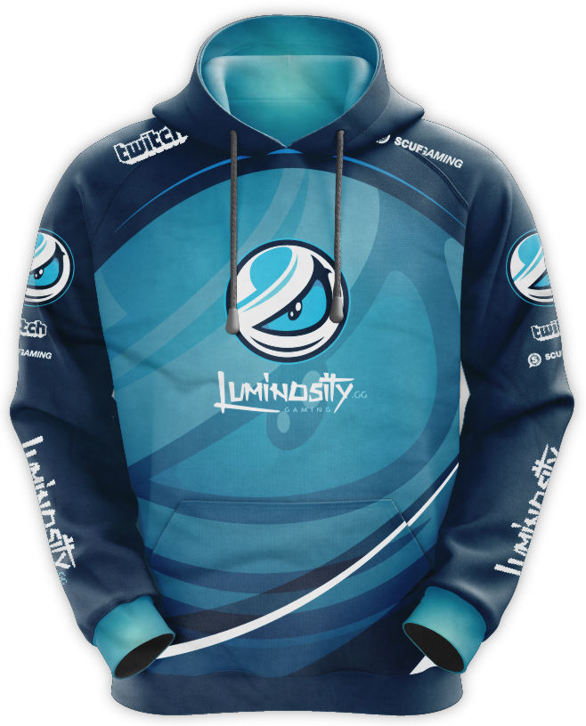 Luminosity Gaming Hoodie Worn By Tory Lanez
