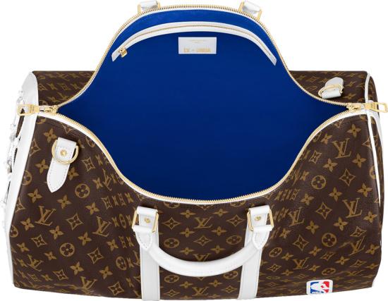 Lvxnba Brown Monogram Keepall 55 Duffle Bag