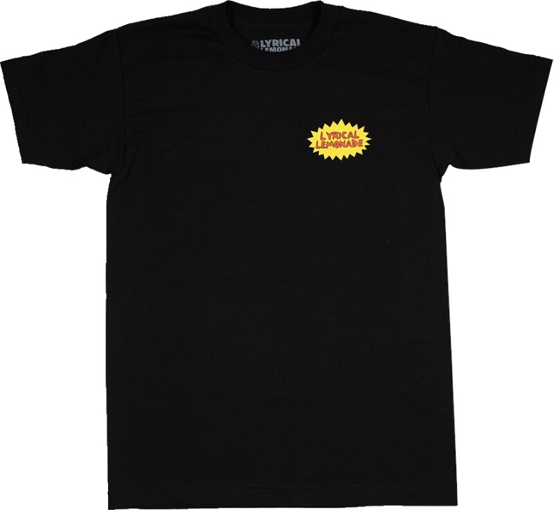 Lyrical Lemonade Logo Print Black T Shirt
