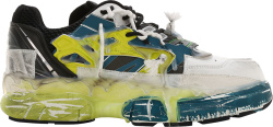 Maison Margiela Blue White Fusion Sneakers