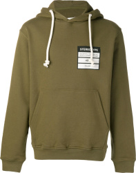 Maison Margiela Green Stereotype Hoodie