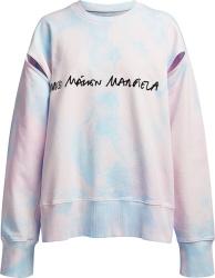 Maison Margiela Mm6 Tie Dye Sweatshirt