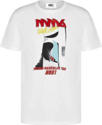 Maison Margiela Mm6 White Tour 2021 T Shirt