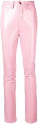 Maison Margiela Pink Vinyl Jeans Worn By 2 Chainz