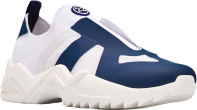Maison Margiela White And Blue Replica Sneakers