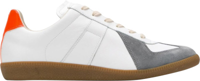 Maison Margiela White Grey Orange Replica Sneakers