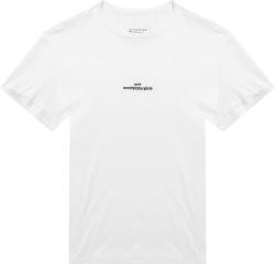 Maison Margiela White Upside Logo T Shirt