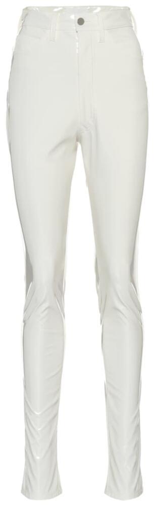 Maison Margiela White Vinyl Pants Worn By Pnb Rock