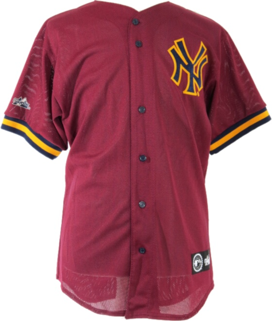 Majestic Burgundy New York Yankess Jersey